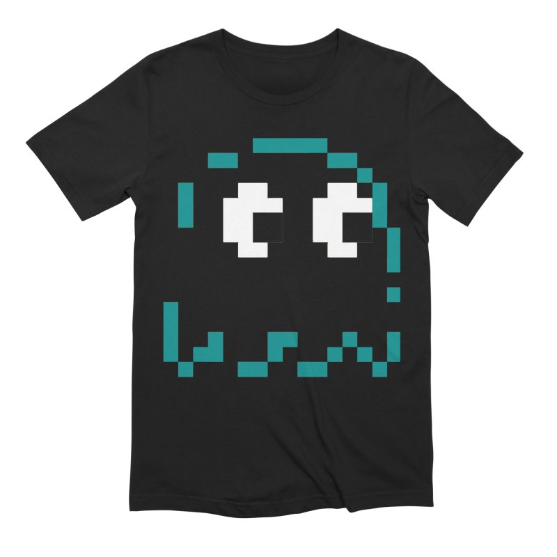 Pacman | Ghost Inky Men's T-Shirt by Silli Philli Produktionz