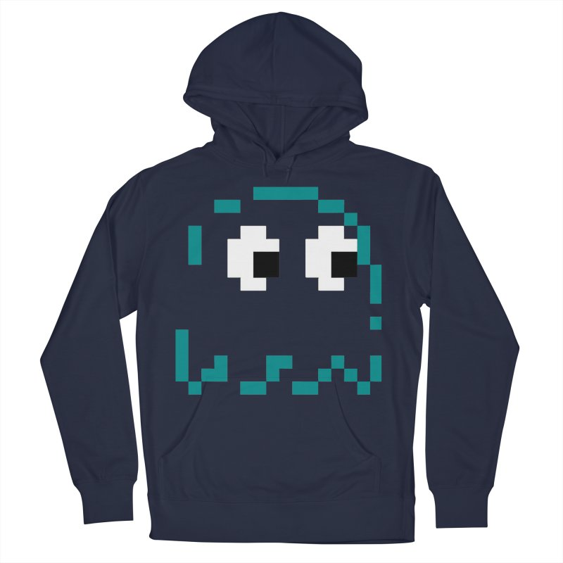 Pacman | Ghost Inky Men's Pullover Hoody by Silli Philli Produktionz
