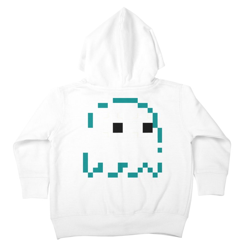 Pacman | Ghost Inky Kids Toddler Zip-Up Hoody by Silli Philli Produktionz | Custom Prints