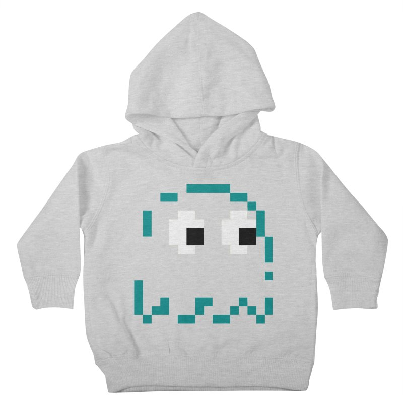 Pacman | Ghost Inky Kids Toddler Pullover Hoody by Silli Philli Produktionz | Custom Prints
