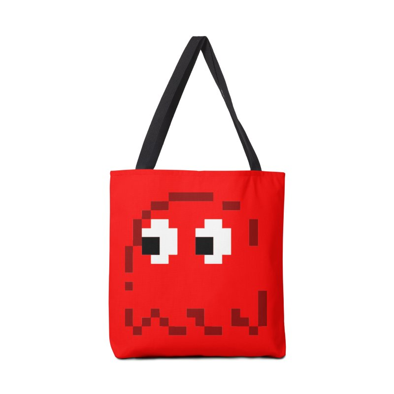 Pacman | Ghost Blinky Accessories Bag by Silli Philli Produktionz