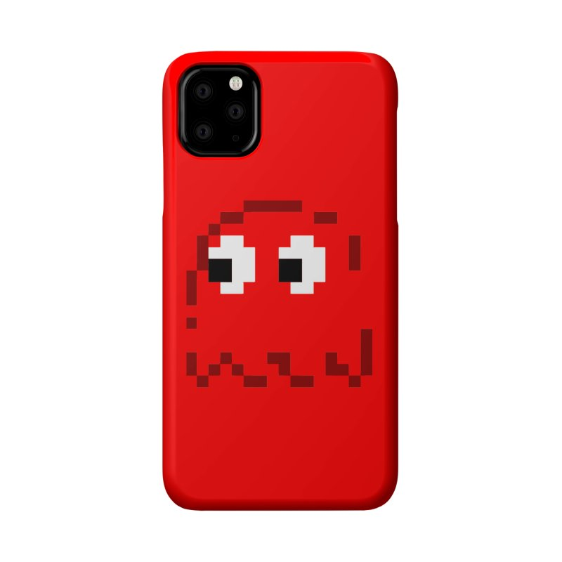 Pacman | Ghost Blinky Accessories Phone Case by Silli Philli Produktionz | Custom Prints