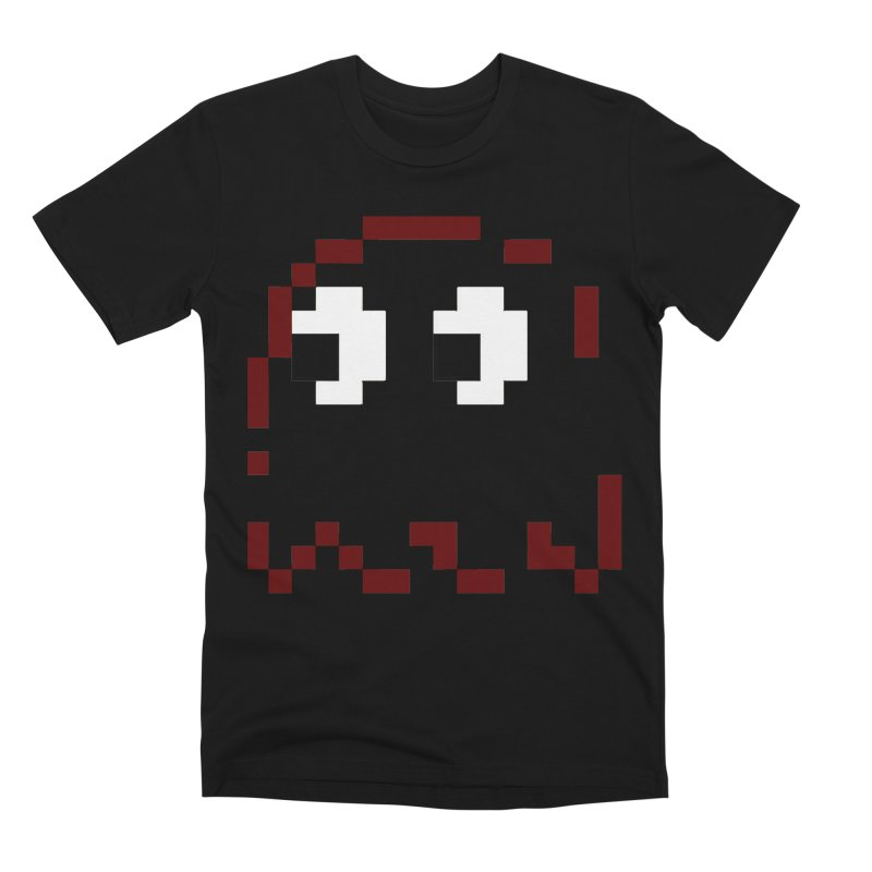 Pacman | Ghost Blinky Men's Premium T-Shirt by Silli Philli Produktionz