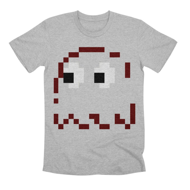 Pacman | Ghost Blinky Men's Premium T-Shirt by Silli Philli Produktionz