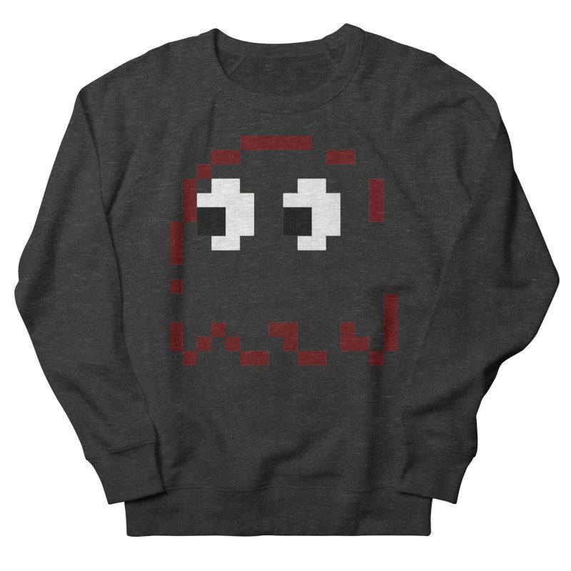 Pacman | Ghost Blinky Men's French Terry Sweatshirt by Silli Philli Produktionz