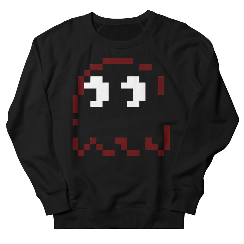 Pacman   Ghost Blinky Men's French Terry Sweatshirt by Silli Philli Produktionz