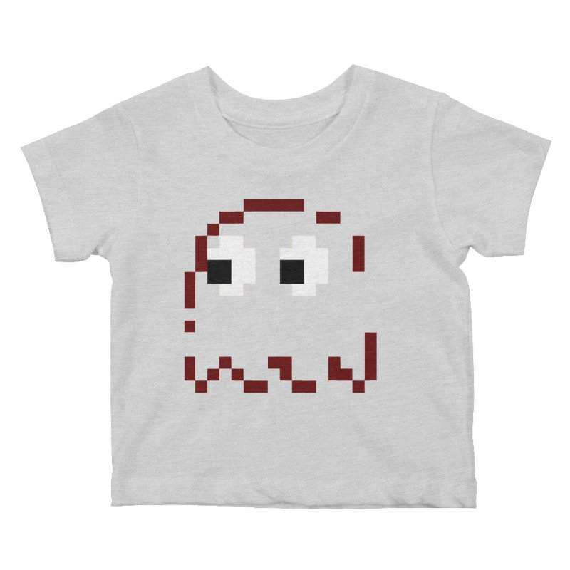 Pacman | Ghost Blinky Kids Baby T-Shirt by Silli Philli Produktionz
