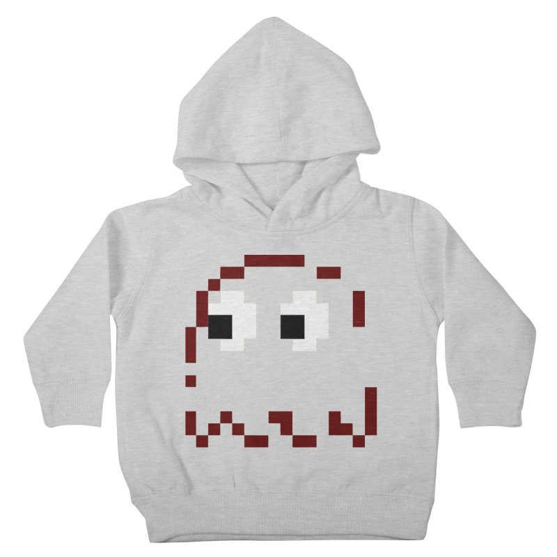 Pacman | Ghost Blinky Kids Toddler Pullover Hoody by Silli Philli Produktionz | Custom Prints