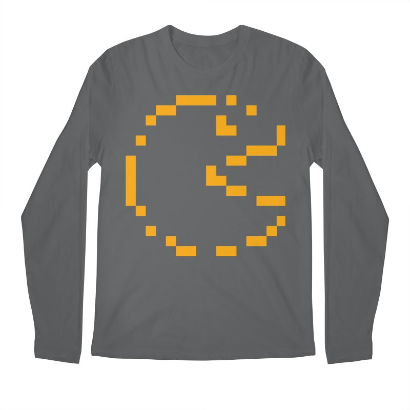 Pacman-Man Men's Regular Longsleeve T-Shirt by Silli Philli Produktionz