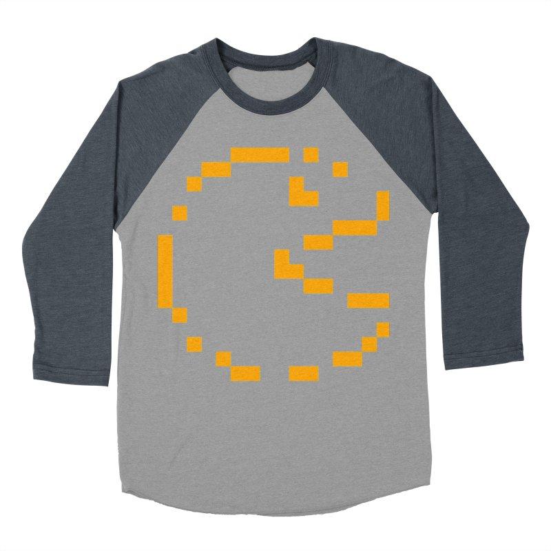 Pacman-Man Men's Baseball Triblend Longsleeve T-Shirt by Silli Philli Produktionz