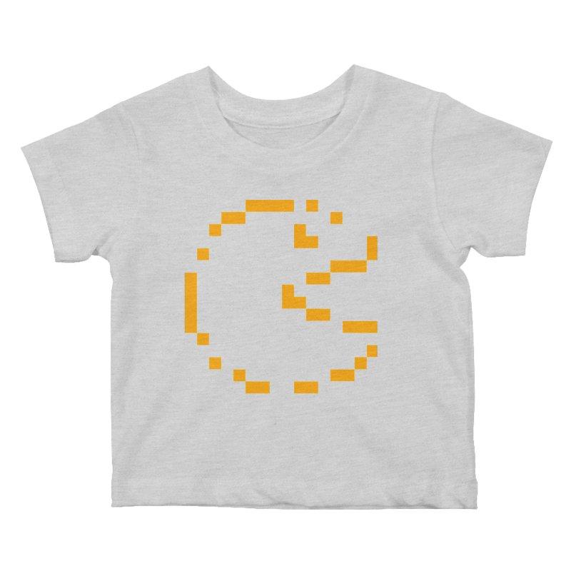 Pacman-Man Kids Baby T-Shirt by Silli Philli Produktionz