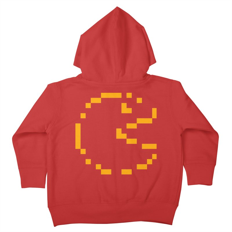 Pacman-Man Kids Toddler Zip-Up Hoody by Silli Philli Produktionz | Custom Prints