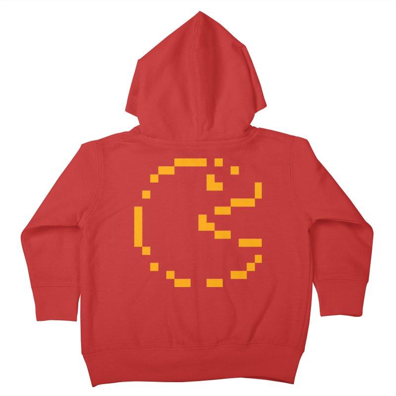 Pacman-Man Kids Toddler Zip-Up Hoody by Silli Philli Produktionz | Custom Prints