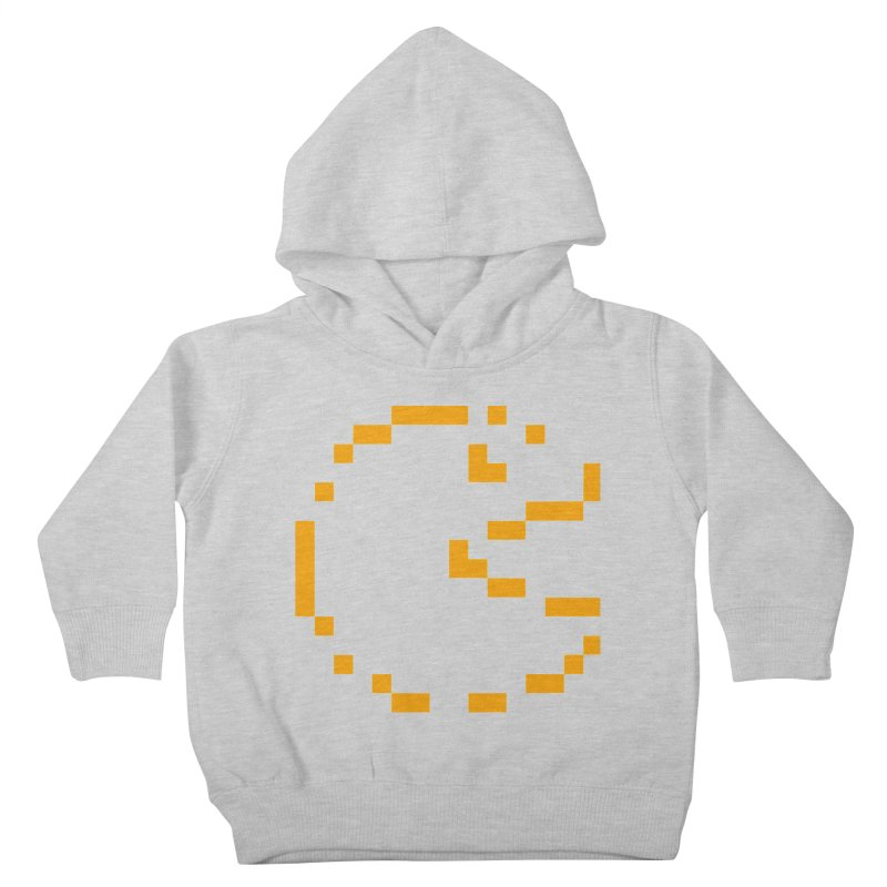 Pacman-Man Kids Toddler Pullover Hoody by Silli Philli Produktionz | Custom Prints