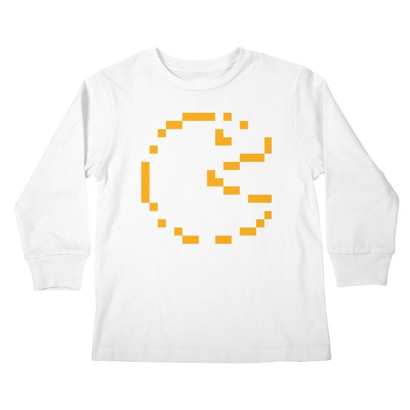 Pacman-Man Kids Longsleeve T-Shirt by Silli Philli Produktionz