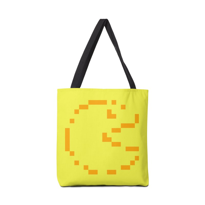 Pacman-Man Accessories Tote Bag Bag by Silli Philli Produktionz