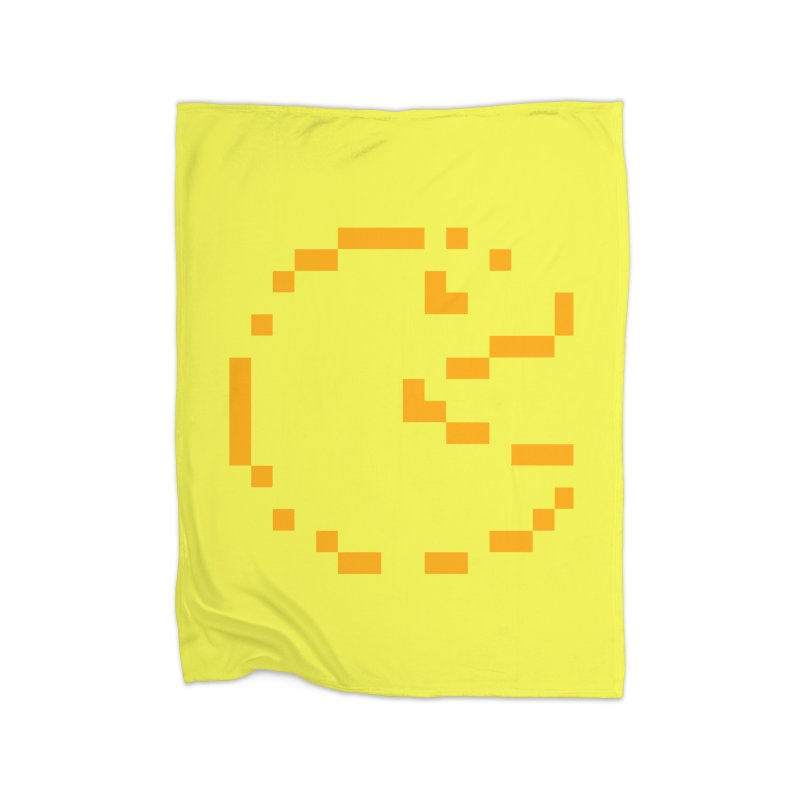 Pacman-Man Home Fleece Blanket Blanket by Silli Philli Produktionz