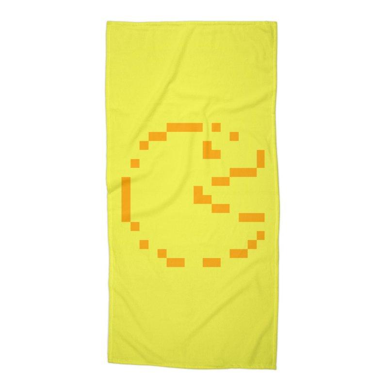 Pacman-Man Accessories Beach Towel by Silli Philli Produktionz