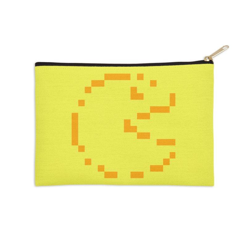 Pacman-Man Accessories Zip Pouch by Silli Philli Produktionz