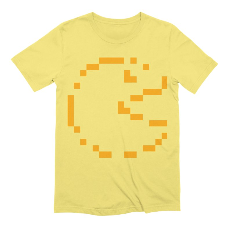 Pacman-Man Men's Extra Soft T-Shirt by Silli Philli Produktionz