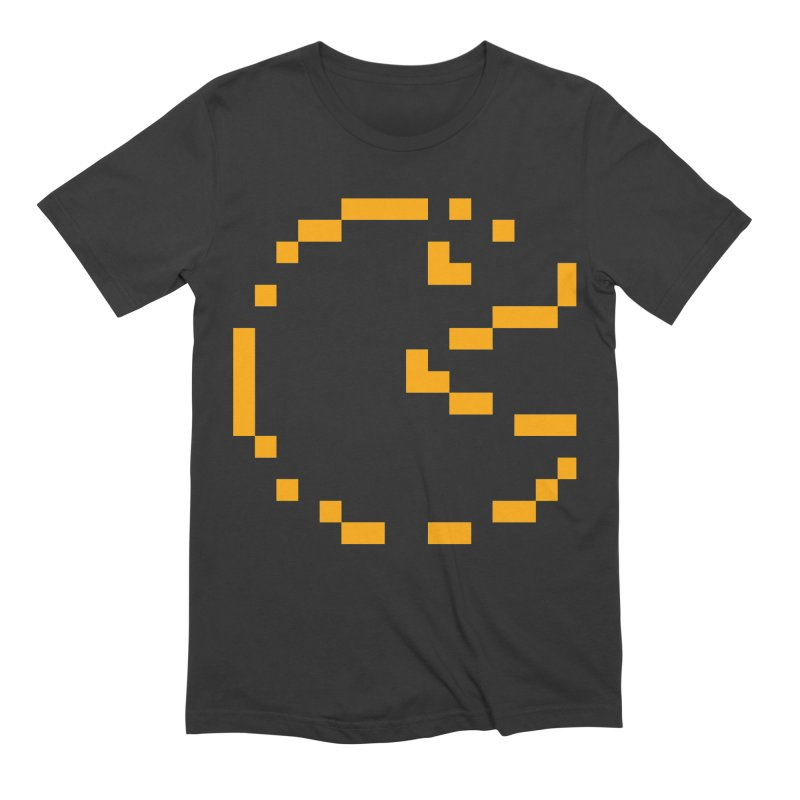 Pacman-Man Men's Extra Soft T-Shirt by Silli Philli Produktionz