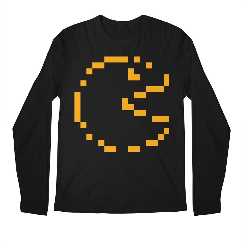 Pacman-Man Men's Regular Longsleeve T-Shirt by Silli Philli Produktionz