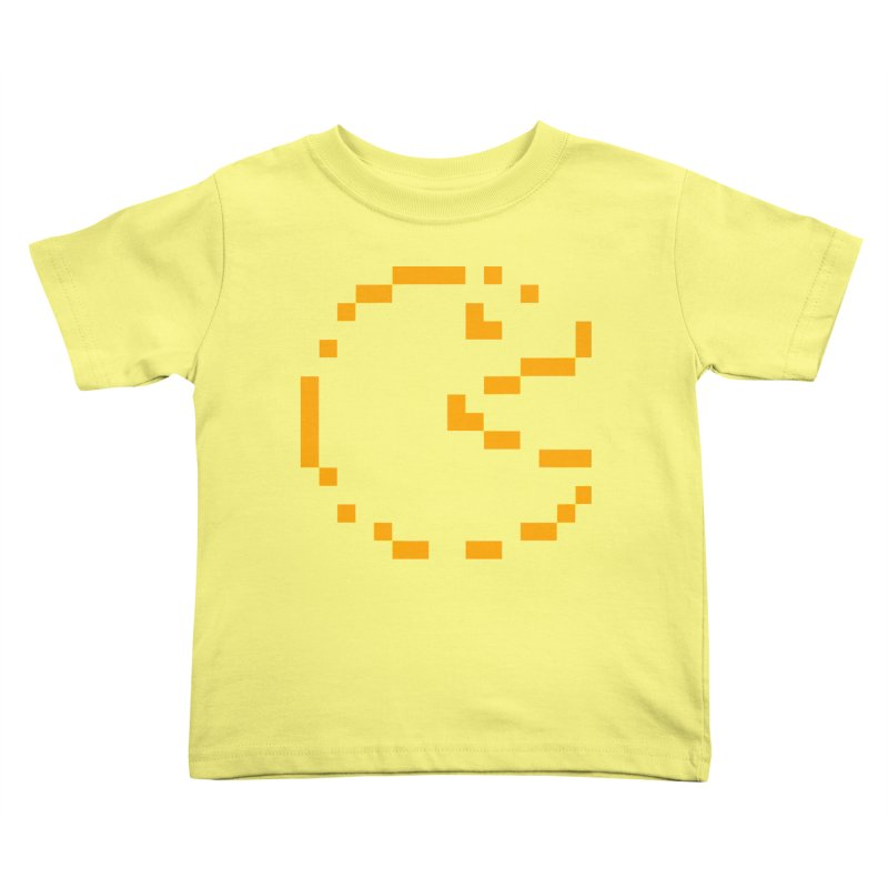 Pacman-Man Kids Toddler T-Shirt by Silli Philli Produktionz