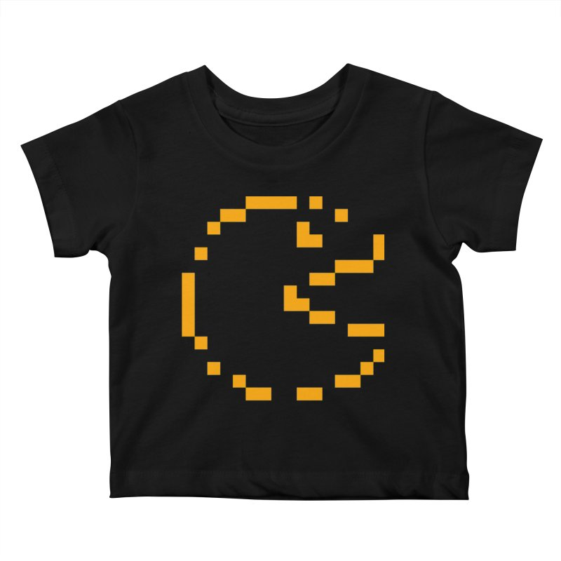 Pacman-Man Kids Baby T-Shirt by Silli Philli Produktionz