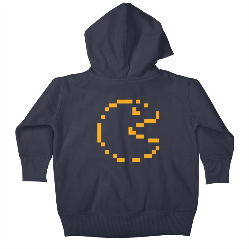 Pacman-Man Kids Baby Zip-Up Hoody by Silli Philli Produktionz