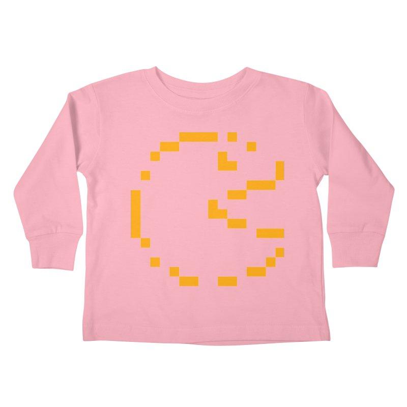 Pacman-Man Kids Toddler Longsleeve T-Shirt by Silli Philli Produktionz