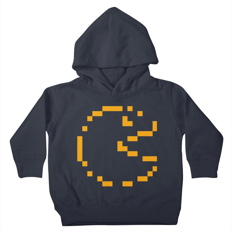 Pacman-Man Kids Toddler Pullover Hoody by Silli Philli Produktionz