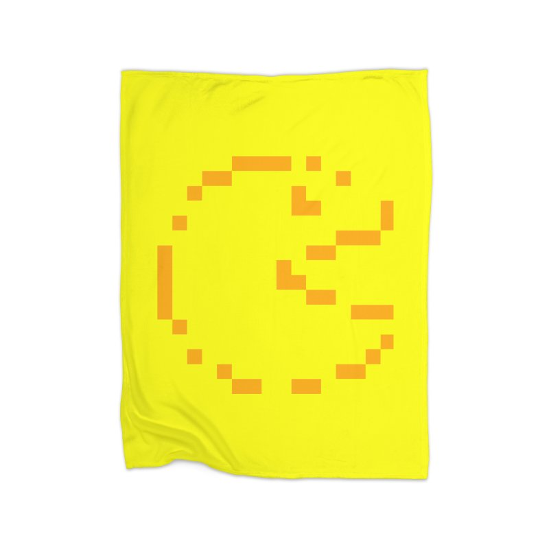 Pacman-Man Home Blanket by Silli Philli Produktionz