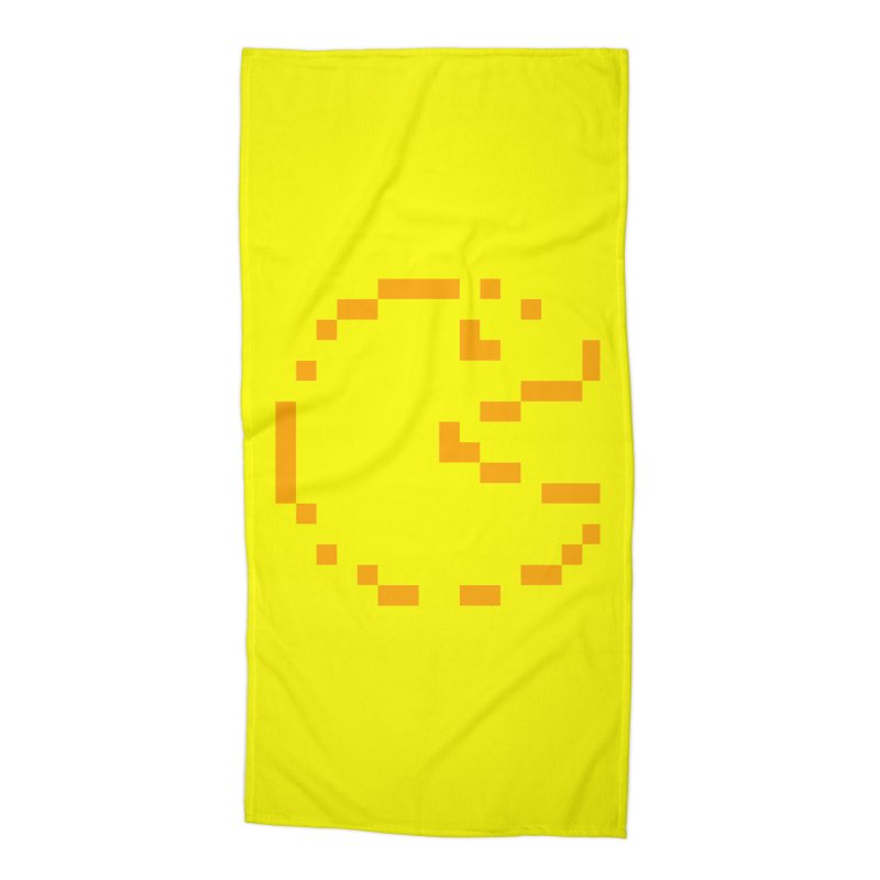 Pacman-Man Accessories Beach Towel by Silli Philli Produktionz