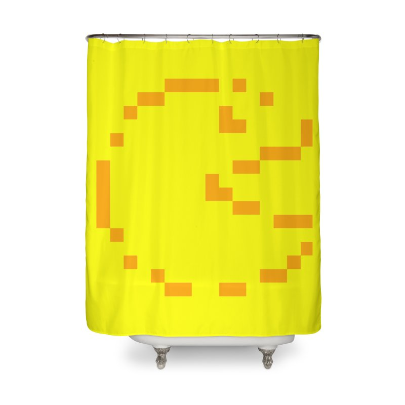 Pacman-Man Home Shower Curtain by Silli Philli Produktionz