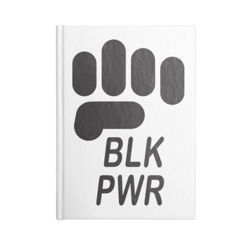 BLKPWR Fist Accessories Notebook by Silli Philli Produktionz | Custom Prints