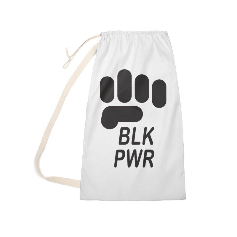 BLKPWR Fist Accessories Bag by Silli Philli Produktionz | Custom Prints