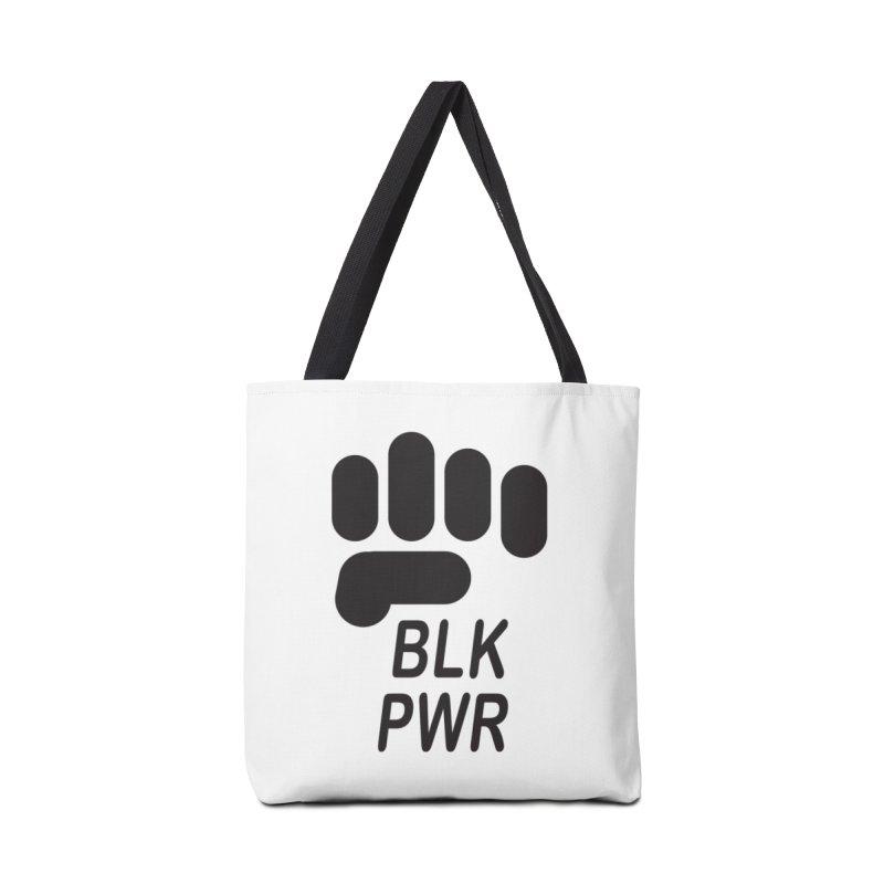 BLKPWR Fist Accessories Bag by Silli Philli Produktionz   Custom Prints