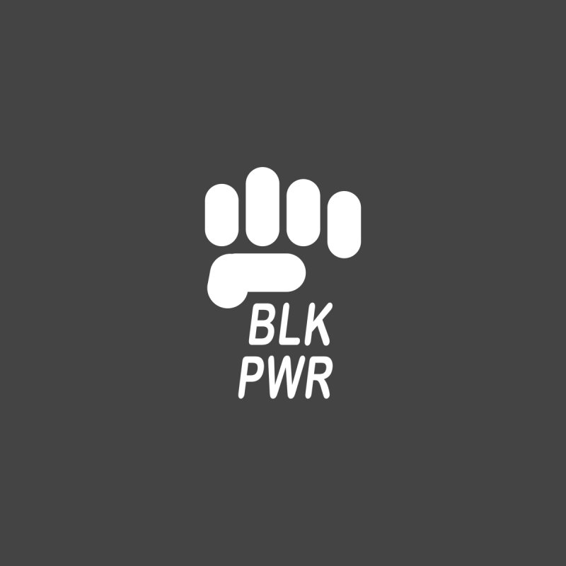BLKPWR Fist on Black Accessories Bag by Silli Philli Produktionz | Custom Prints