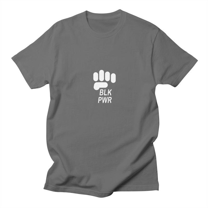 BLKPWR Fist on Black Women's T-Shirt by Silli Philli Produktionz | Custom Prints
