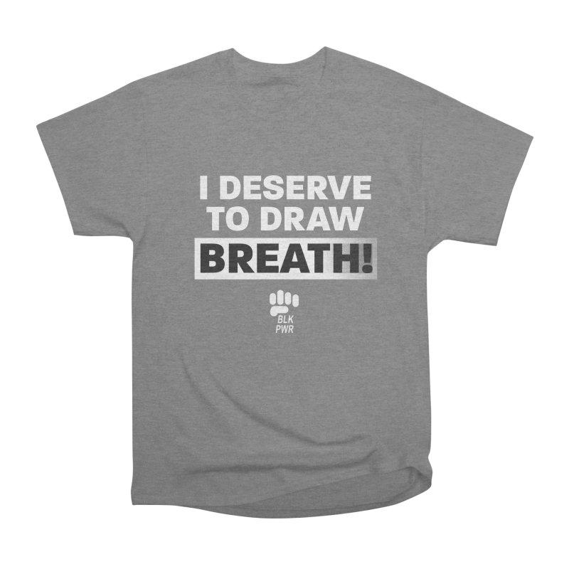 BLKPWR - Draw Breath - White Women's T-Shirt by Silli Philli Produktionz | Custom Prints