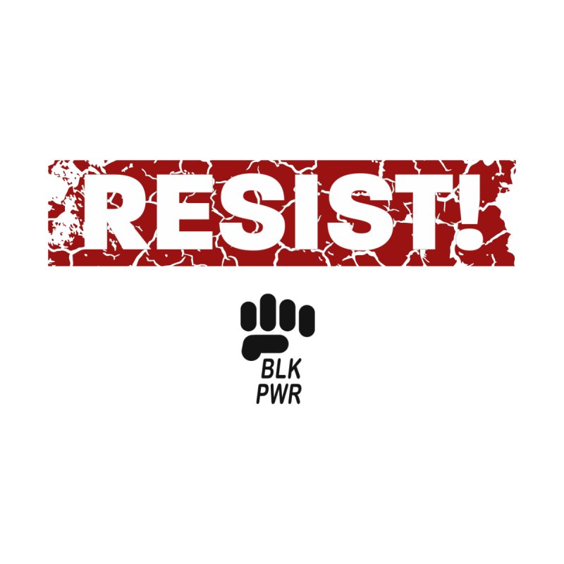 BLKPWR - RESIST! - Black Home Duvet by Silli Philli Produktionz | Custom Prints