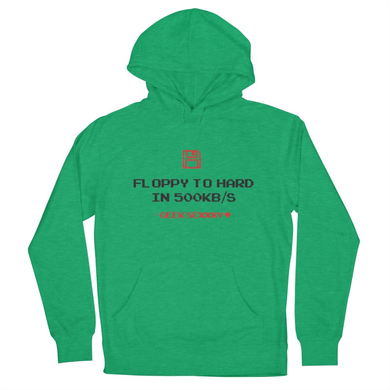 Geek Sexxxy | Floppy to Hard - Light Men's French Terry Pullover Hoody by Silli Philli Produktionz