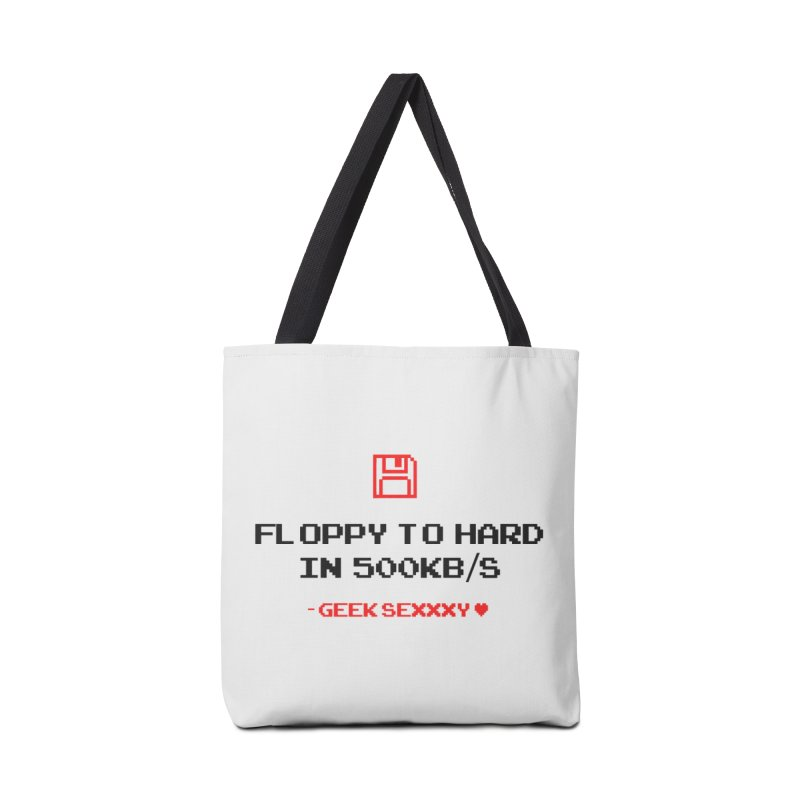 Geek Sexxxy | Floppy to Hard - Light Accessories Bag by Silli Philli Produktionz