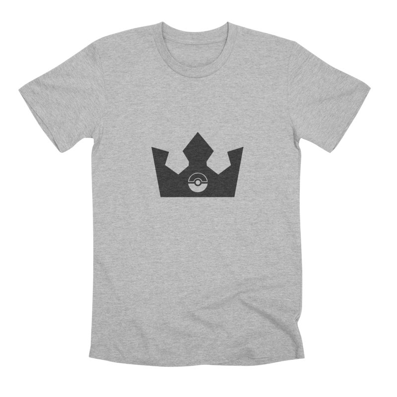 PokeMaan - Queen Of The Gym Men's Premium T-Shirt by Silli Philli Produktionz
