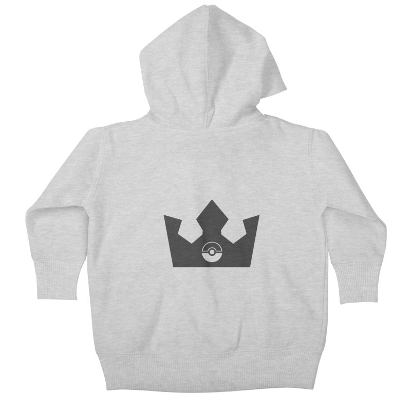 PokeMaan - Queen Of The Gym Kids Baby Zip-Up Hoody by Silli Philli Produktionz