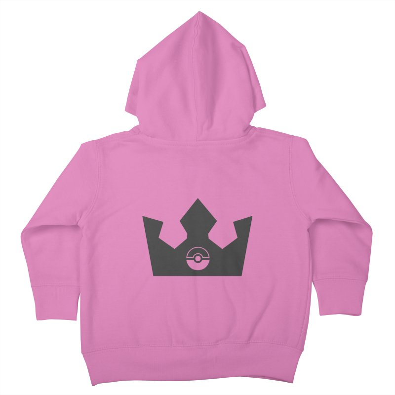 PokeMaan - Queen Of The Gym Kids Toddler Zip-Up Hoody by Silli Philli Produktionz