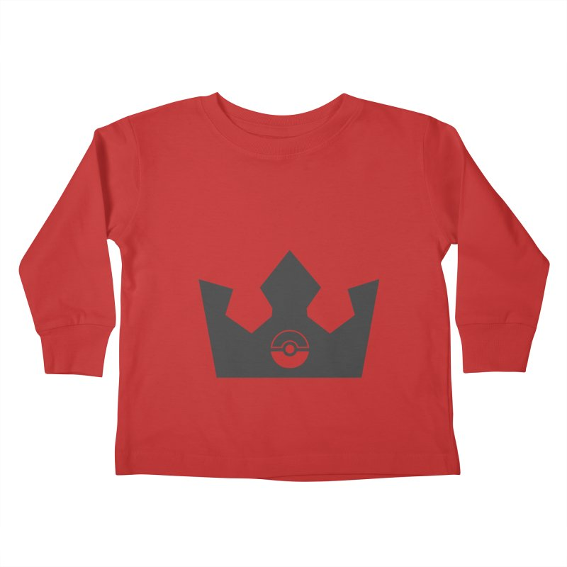 PokeMaan - Queen Of The Gym Kids Toddler Longsleeve T-Shirt by Silli Philli Produktionz