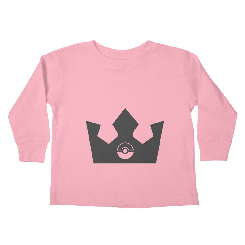 PokeMaan - Queen Of The Gym Kids Toddler Longsleeve T-Shirt by Silli Philli Produktionz   Custom Prints