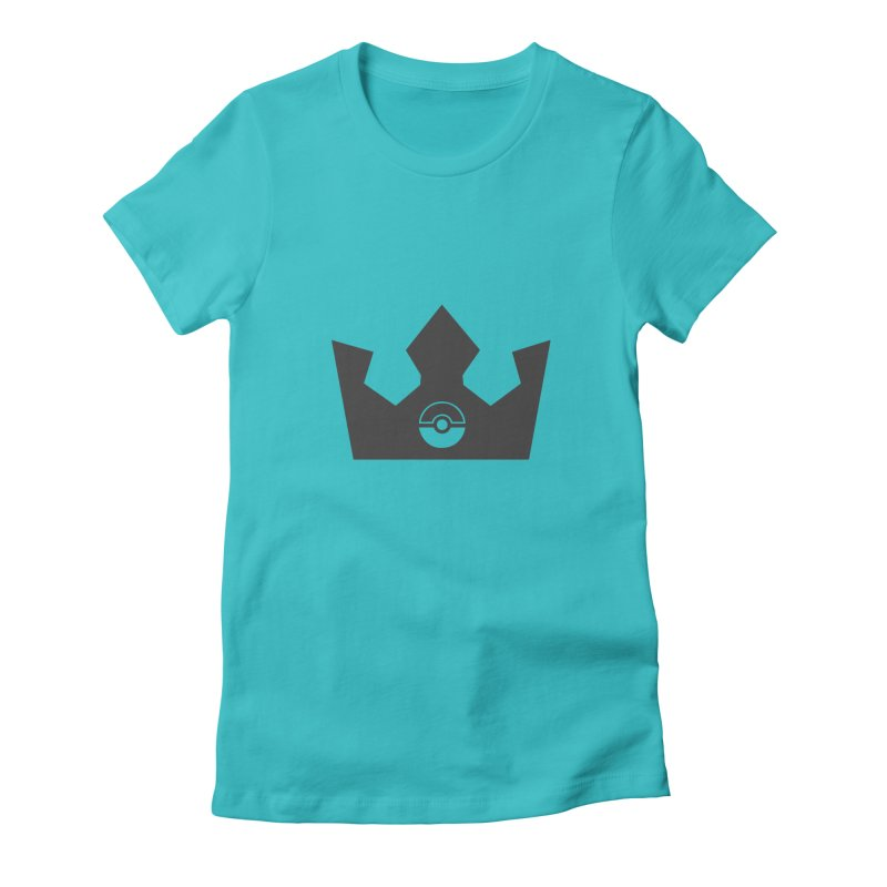 PokeMaan - Queen Of The Gym Women's Fitted T-Shirt by Silli Philli Produktionz