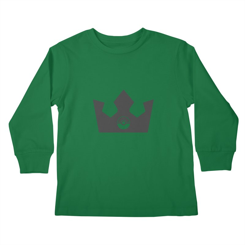 PokeMaan - Queen Of The Gym Kids Longsleeve T-Shirt by Silli Philli Produktionz | Custom Prints